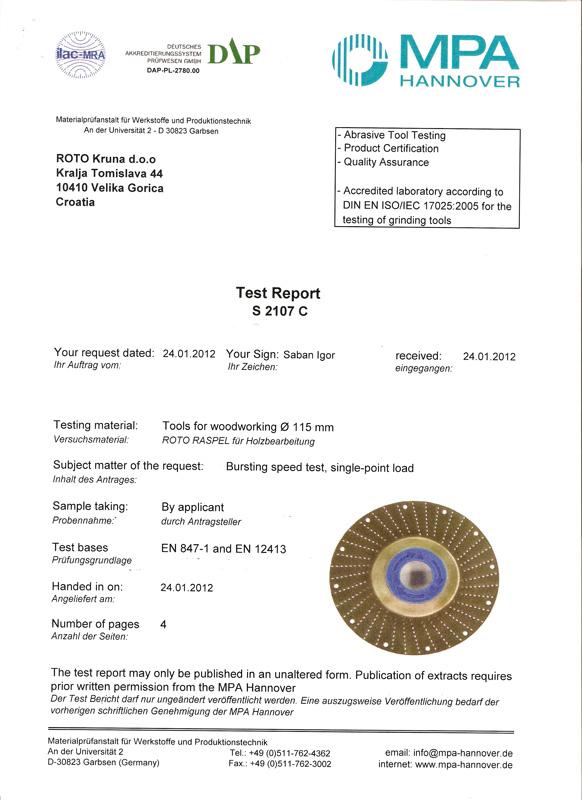 Certificates Inat Sro